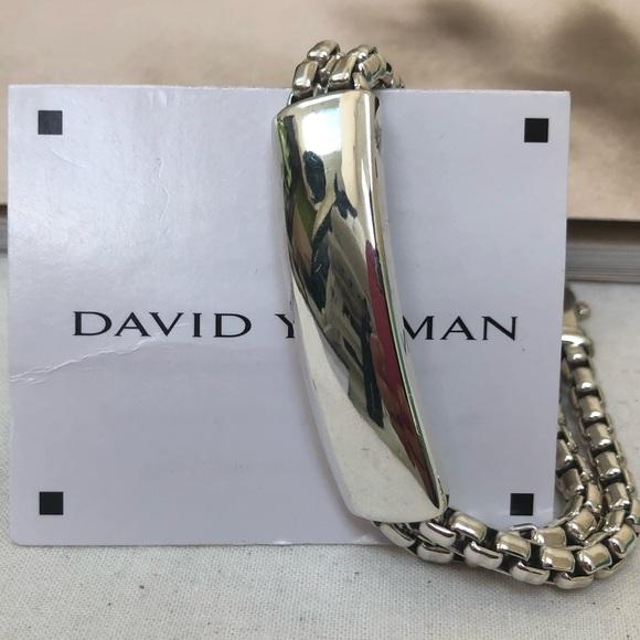 David Yurman Jewelry - 🔴Authentic DAVID YURMAN Double ID Bracelet ♥️